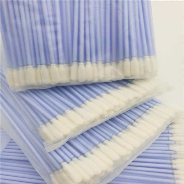 high quality micro cotton swabs ESD-safe Polypropylene handle wholesale for general purpose cleaning-3