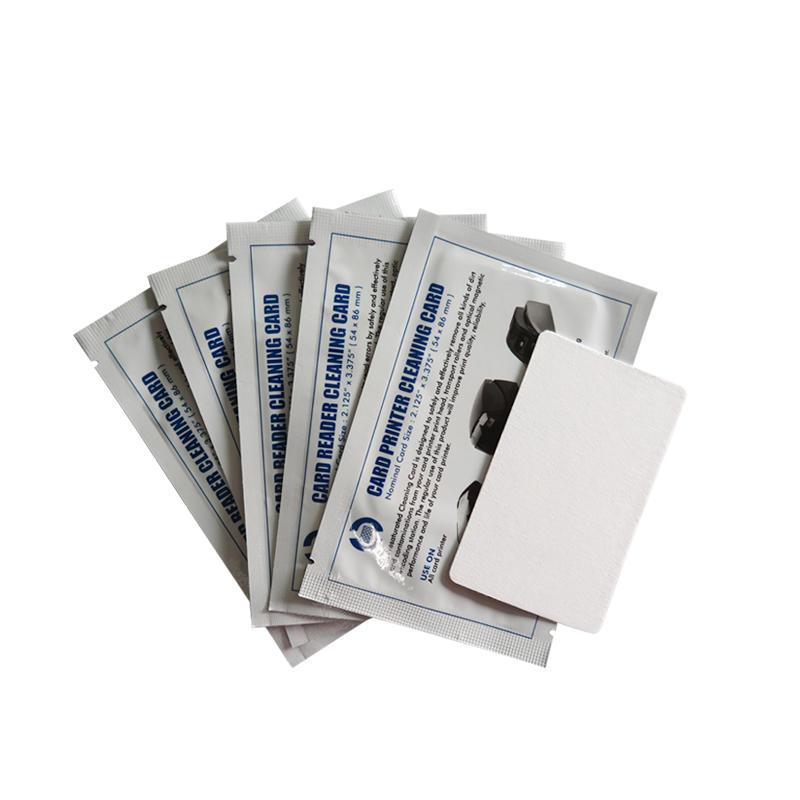 Cleanmo low-tack adhesive paper clean card wholesale for Magna Platinum