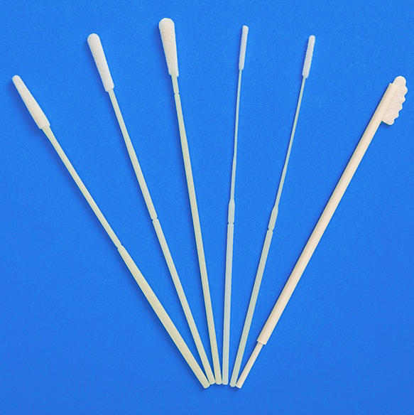What is the difference between flocked swab and cleanroom swab?