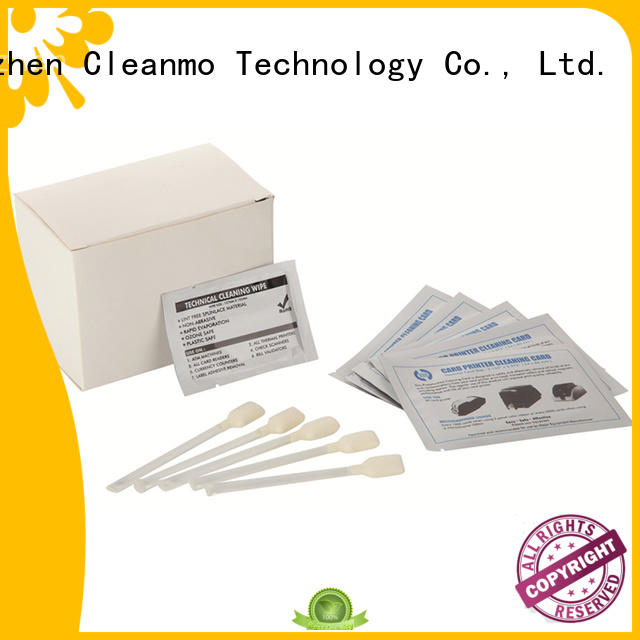 Wholesale output evolis cleaning kits after Cleanmo Brand