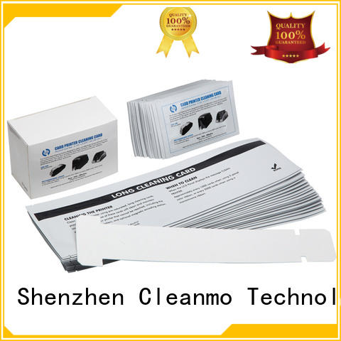 Cleanmo cost effective zebra printer cleaning manufacturer for cleaning dirt