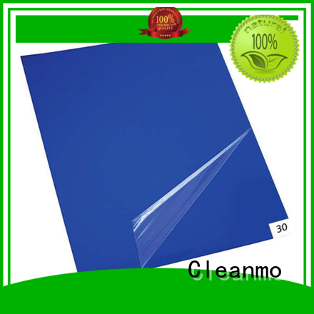Cleanmo good quality clean room mat sensitive adhesive for laboratories