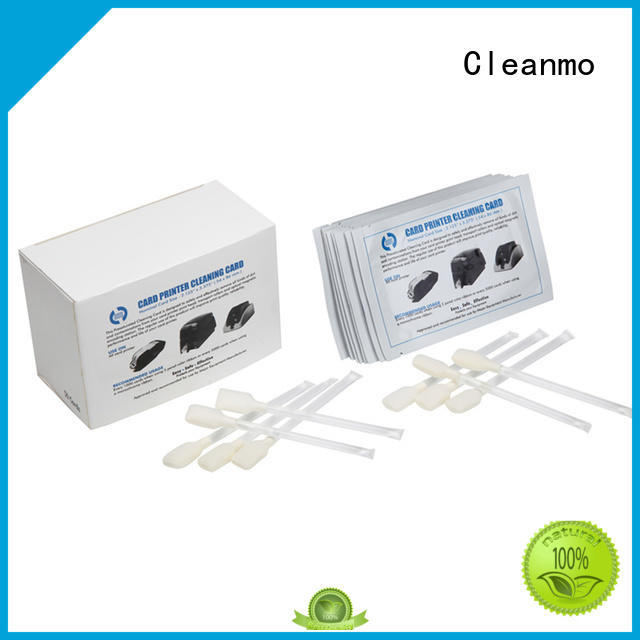 Cleanmo pvc zebra cleaning kit wholesale for Zebra P120i printer