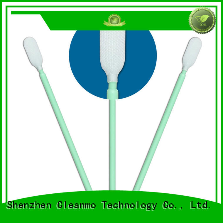 affordable Microfiber Industrial Swab Sticks double layers of microfiber fabric factory price for Micro-mechanical cleaning