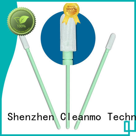 Cleanmo good quality cleaning swabs electronics flexible paddle for microscopes