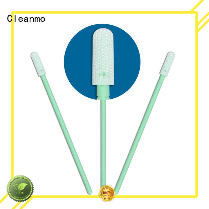 high quality cleanroom swabs foam polypropylene handle manufacturer for general purpose cleaning