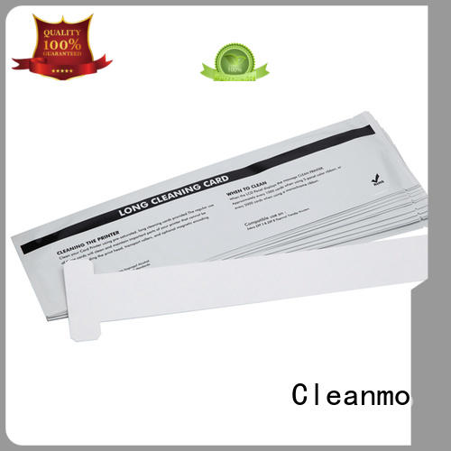 Cleanmo safe zebra cleaning card manufacturer for cleaning dirt