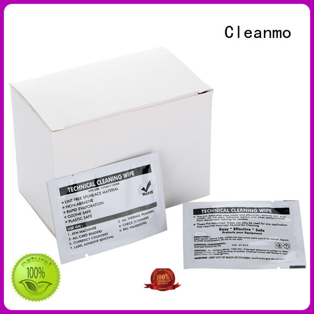 Cleanmo cost-effective evolis cleaning kits wholesale for Evolis printer