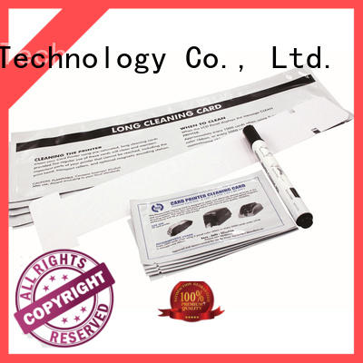 Cleanmo Aluminum foil packing long cleaning swabs manufacturer for Javelin J360i printers