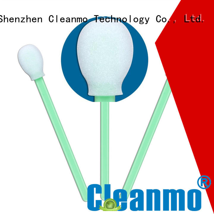 Cleanmo ESD-safe cleanroom swabs supplier for general purpose cleaning
