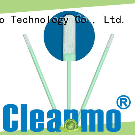 Cleanmo ESD-safe microfiber swabs supplier for general purpose cleaning