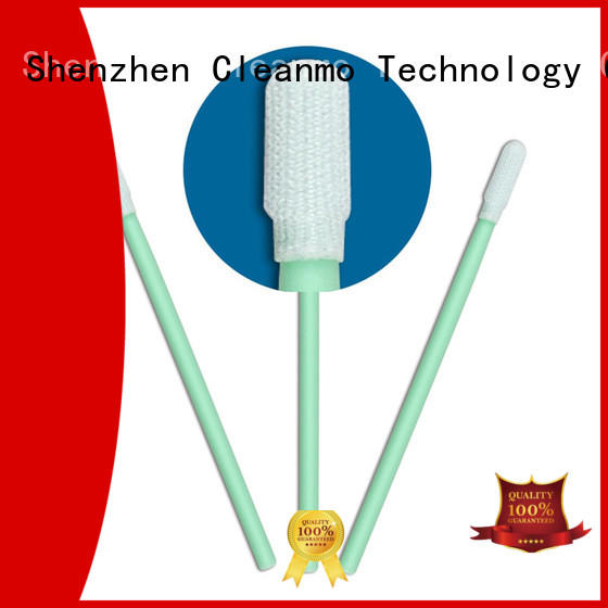 Cleanmo flexible paddle esd swabs manufacturer for printers