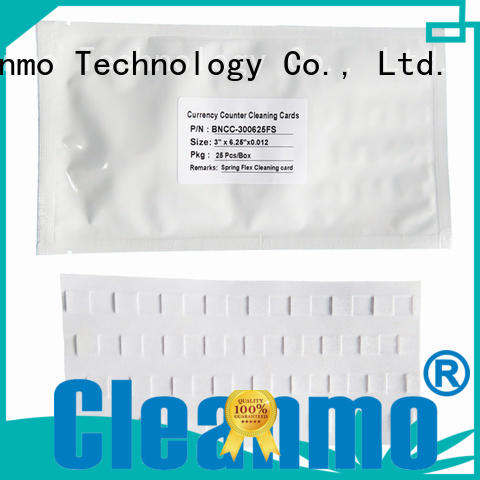 Cleanmo Brand currency eftpos cleaning card cards factory
