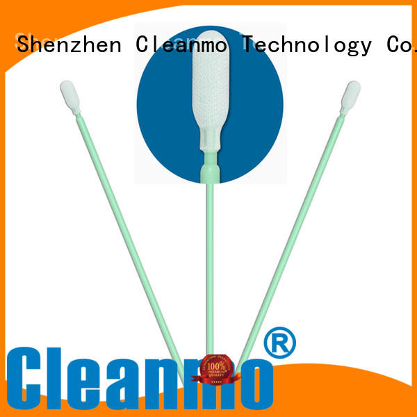 Cleanmo high quality polyester swab wholesale for optical sensors