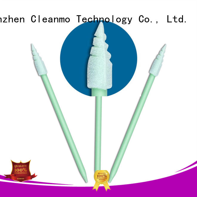 Cleanmo Polyurethane Foam japanese cotton swabs wholesale for general purpose cleaning