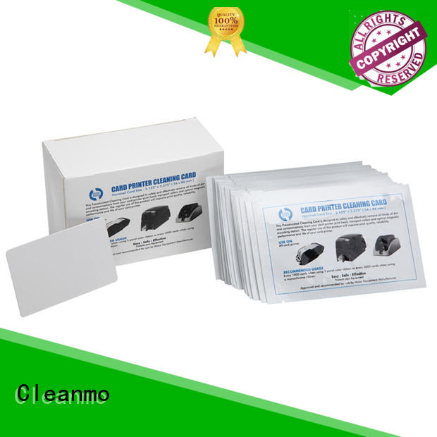 cost-effective card reader cleaning card non woven supplier for POS Terminal