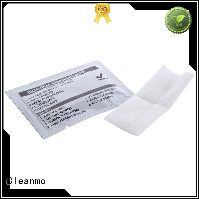 printhead cleaning wipes POS for Cleanmo Brand printhead wipes