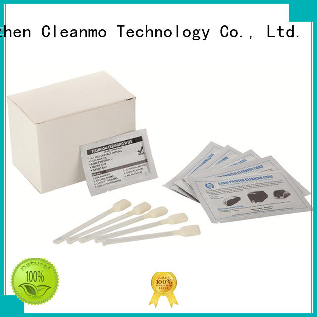 quick Evolis Cleaning cards Electronic-grade IPA Snap Swab factory price for ID card printers