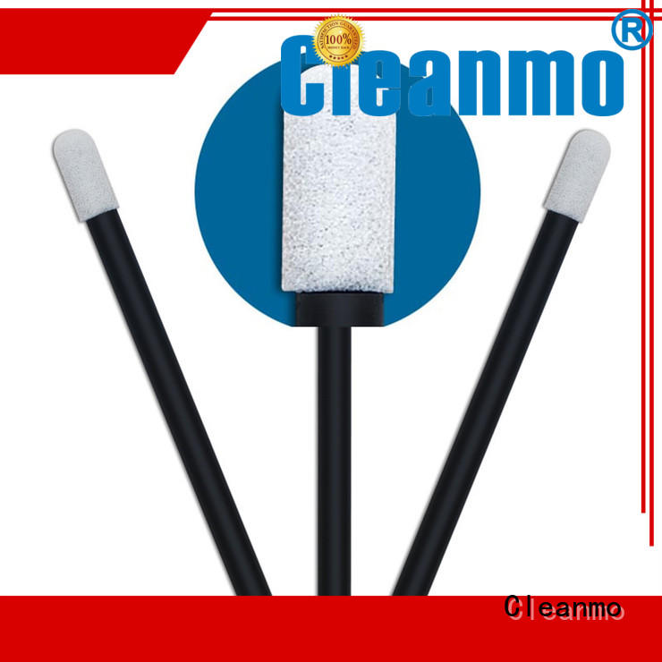 Cleanmo ESD-safe Polypropylene handle foam tips wholesale for Micro-mechanical cleaning