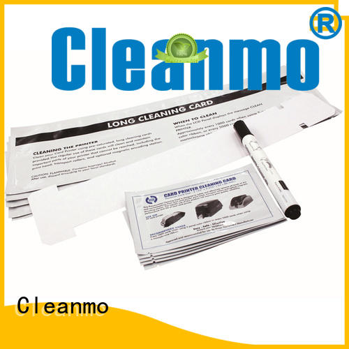 Cleanmo Aluminum foil packing Javeling cleaning cards supplier for J430i Printers