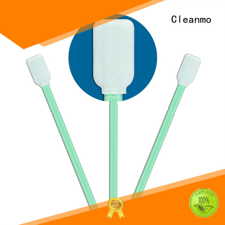 Cleanmo excellent chemical resistance sensor cleaning swabs manufacturer for excess materials cleaning