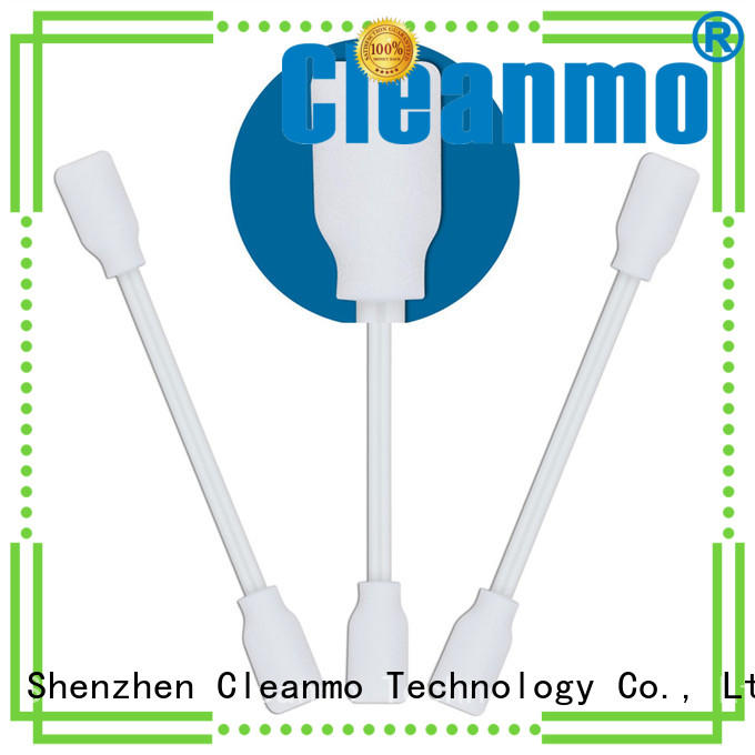 Cleanmo small ropund head chlamydia swab supplier for Micro-mechanical cleaning