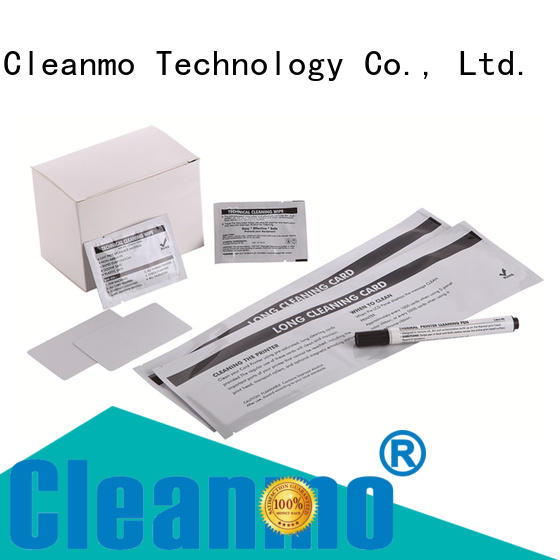 Cleanmo Aluminum Foil printer cleaning supplies wholesale for ID card printers