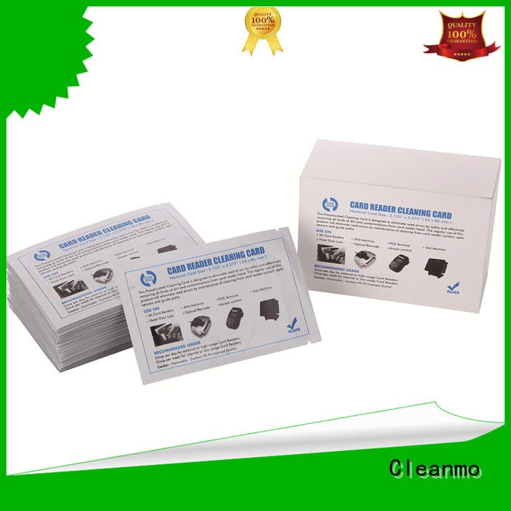Cleanmo high quality evolis cleaning kits manufacturer for Evolis printer