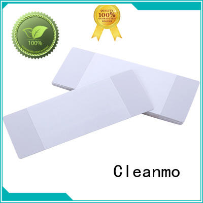 Cleanmo high quality Evolis Cleaning cards manufacturer for ID card printers
