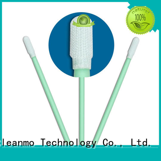 safe material esd swabs flexible paddle manufacturer for optical sensors