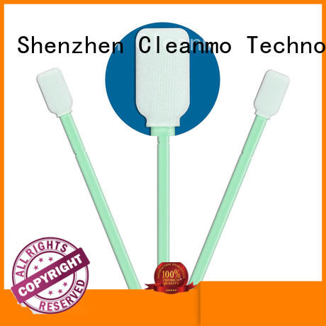 Cleanmo polypropylene handle esd swabs manufacturer for printers