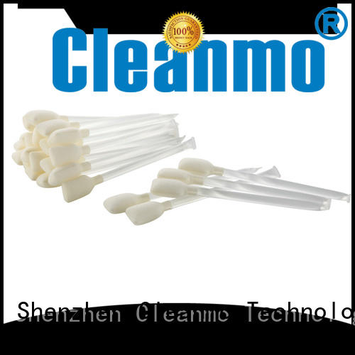 Cleanmo Aluminum Foil printhead cleaning swabs wholesale for ATM/POS Terminals