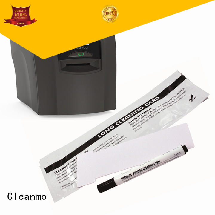 Cleanmo good quality AlphaCard Printer Cleaning Cards factory for AlphaCard PRO 100 Printer