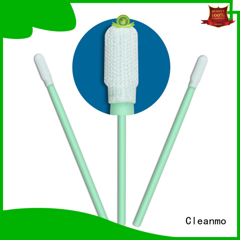 Cleanmo polypropylene handle dacron swab wholesale for general purpose cleaning