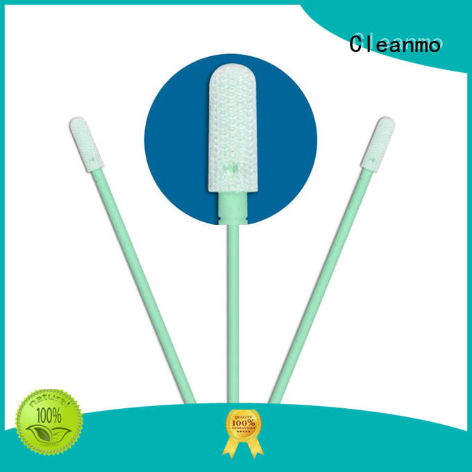 compatible fiber optic swabs polypropylene handle supplier for general purpose cleaning