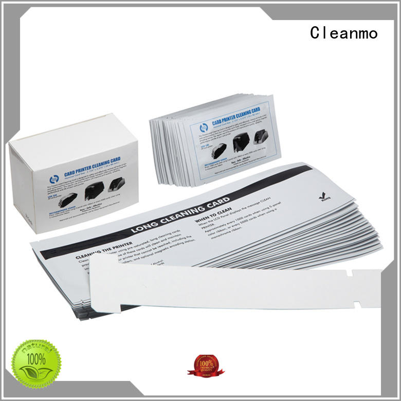 Cleanmo Aluminum foil packing zebra printer cleaning factory for cleaning dirt