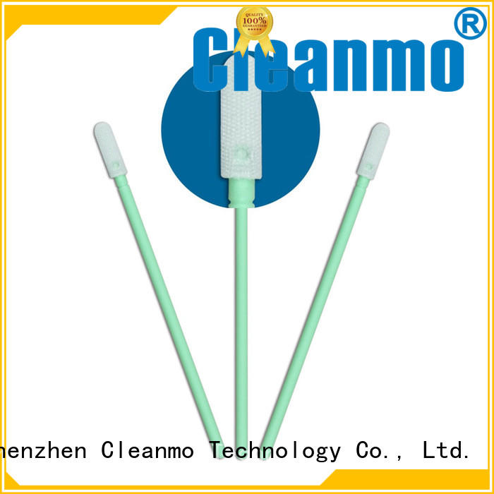 Cleanmo high quality Microfiber Industrial Swab Sticks wholesale for general purpose cleaning