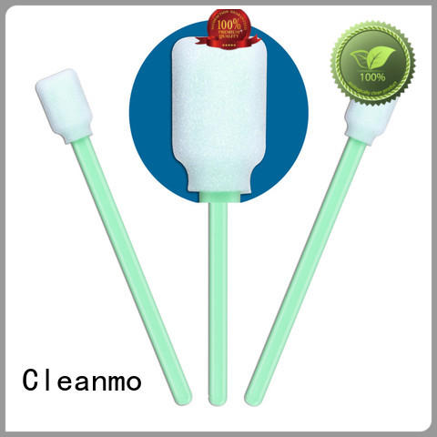 Cleanmo cost-effective optic cleaning swabs manufacturer for excess materials cleaning