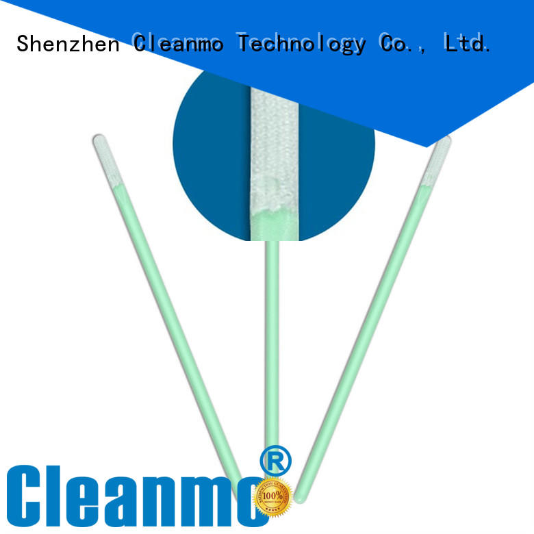 affordable Microfiber Industrial Swab Sticks supplier for excess materials cleaning