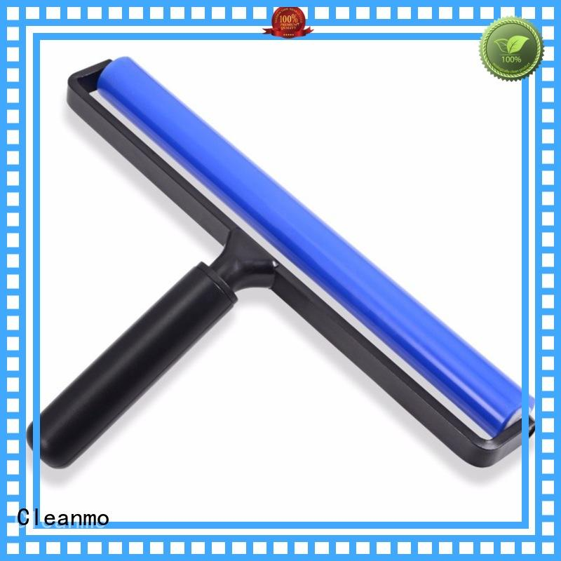 Cleanmo patented anti-static silicone roller wholesale for light guide plates