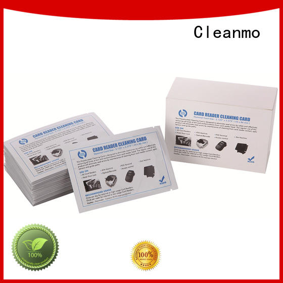 Cleanmo High and LowTack Double Coated Tape clean printer head wholesale for ID card printers