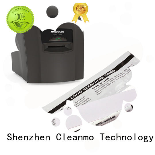 Hot top AlphaCard Short T Cleaning Cards cleaning shape Cleanmo Brand