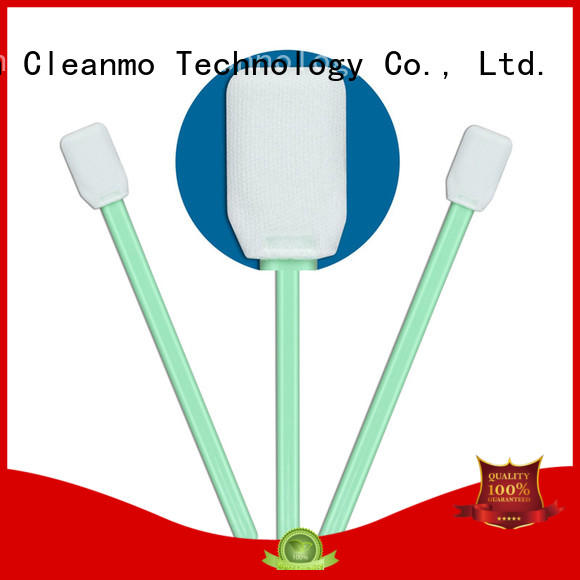 Cleanmo affordable clean tips swabs supplier for excess materials cleaning