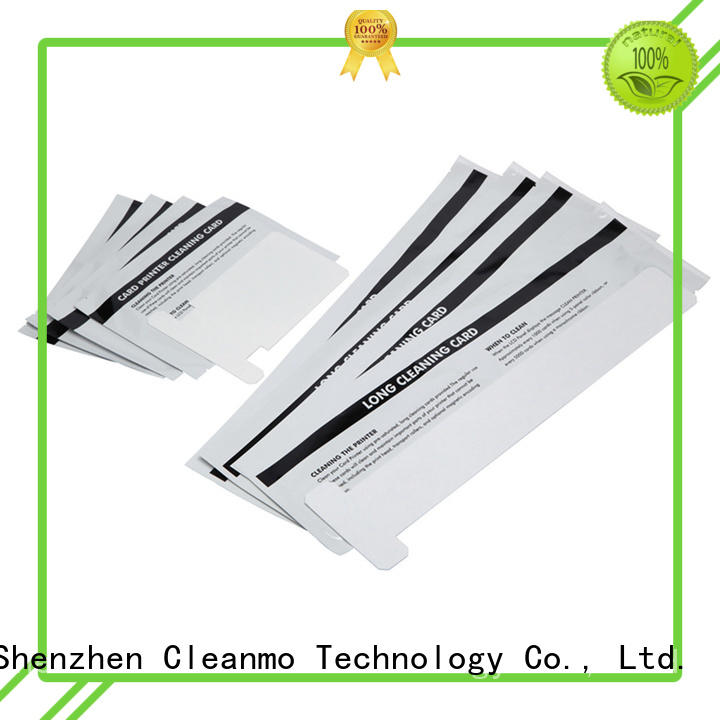 disposable zebra printer cleaning non woven factory for Zebra P120i printer