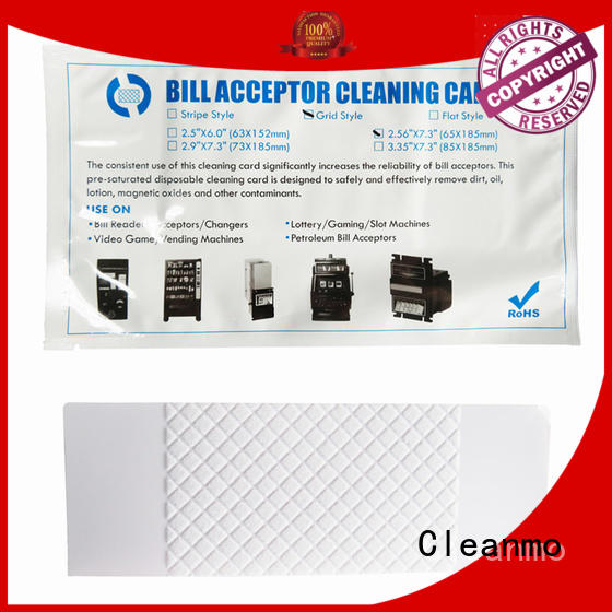 on-the-spot one-step bill cleaning credit card validator Cleanmo Brand