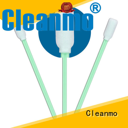Cleanmo precision tip head alcohol swab price manufacturer for excess materials cleaning