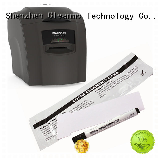 Cleanmo Electronic-grade IPA AlphaCard printer Cleaning Rollers factory for AlphaCard PRO 100 Printer