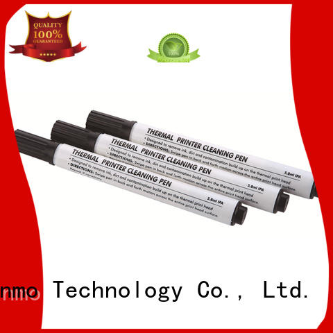 Cleanmo Aluminum Foil clean printer head manufacturer for Evolis printer