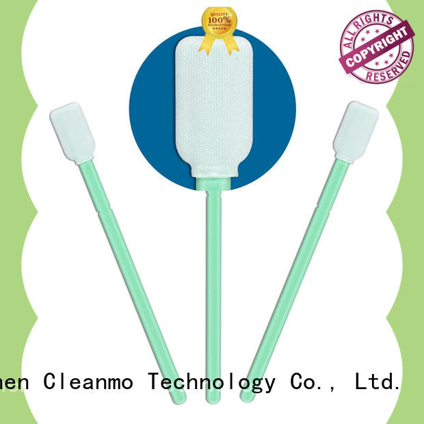 Cleanmo excellent chemical resistance sensor swab wholesale for excess materials cleaning