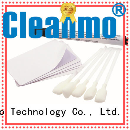 Cleanmo good quality Nisca printer cleaning kits wholesale for PR5360LE TeamNisca ID Card Printers